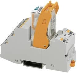 Relækomponent 1 stk Phoenix Contact RIF-2-RPT-LDP-24DC/2X21 Nominel spænding: 24 V/DC Brydestrøm (max.): 10 A 2 x omskifter