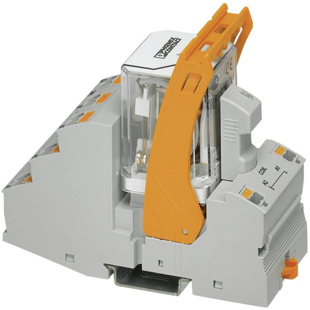Relækomponent 1 stk Phoenix Contact RIF-4-RPT-LV-120AC/3X21 Nominel spænding: 120 V/AC Brydestrøm (max.): 8 A 3 x omskifter