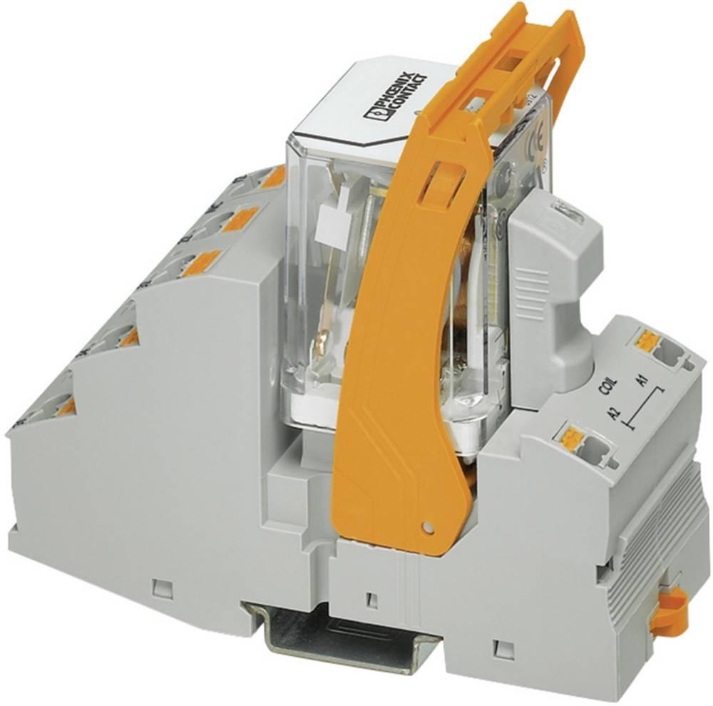Relækomponent 1 stk Phoenix Contact RIF-4-RPT-LV-120AC/3X1 Nominel spænding: 120 V/AC Brydestrøm (max.): 8 A 3 x afbryder
