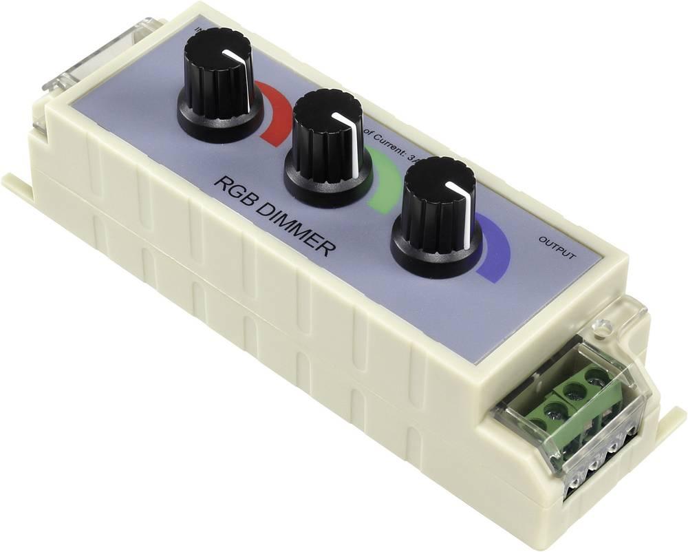 3-kanalninini zatemnjivač za RGB-LED trake Conrad SU12001 napajanje 3 A po kanalu