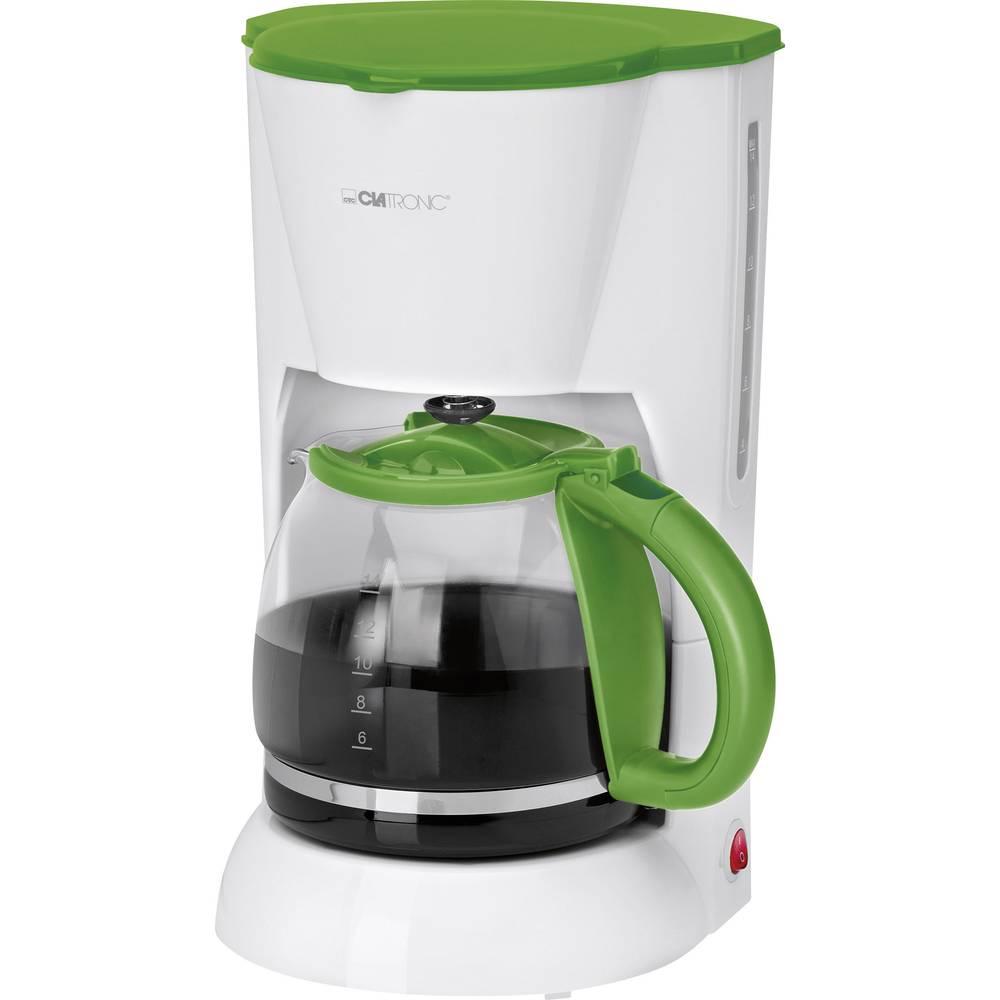 Coffee Maker Clatronic Ka3473 White Green Cup Volume14 Plate Warmer