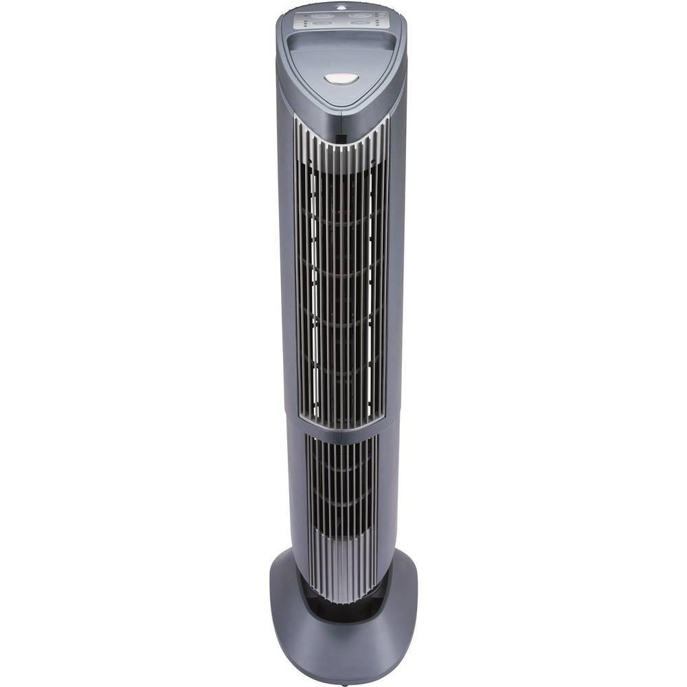 Čistač zraka s ionizatorom 50 m2 25 W antracitna Conrad
