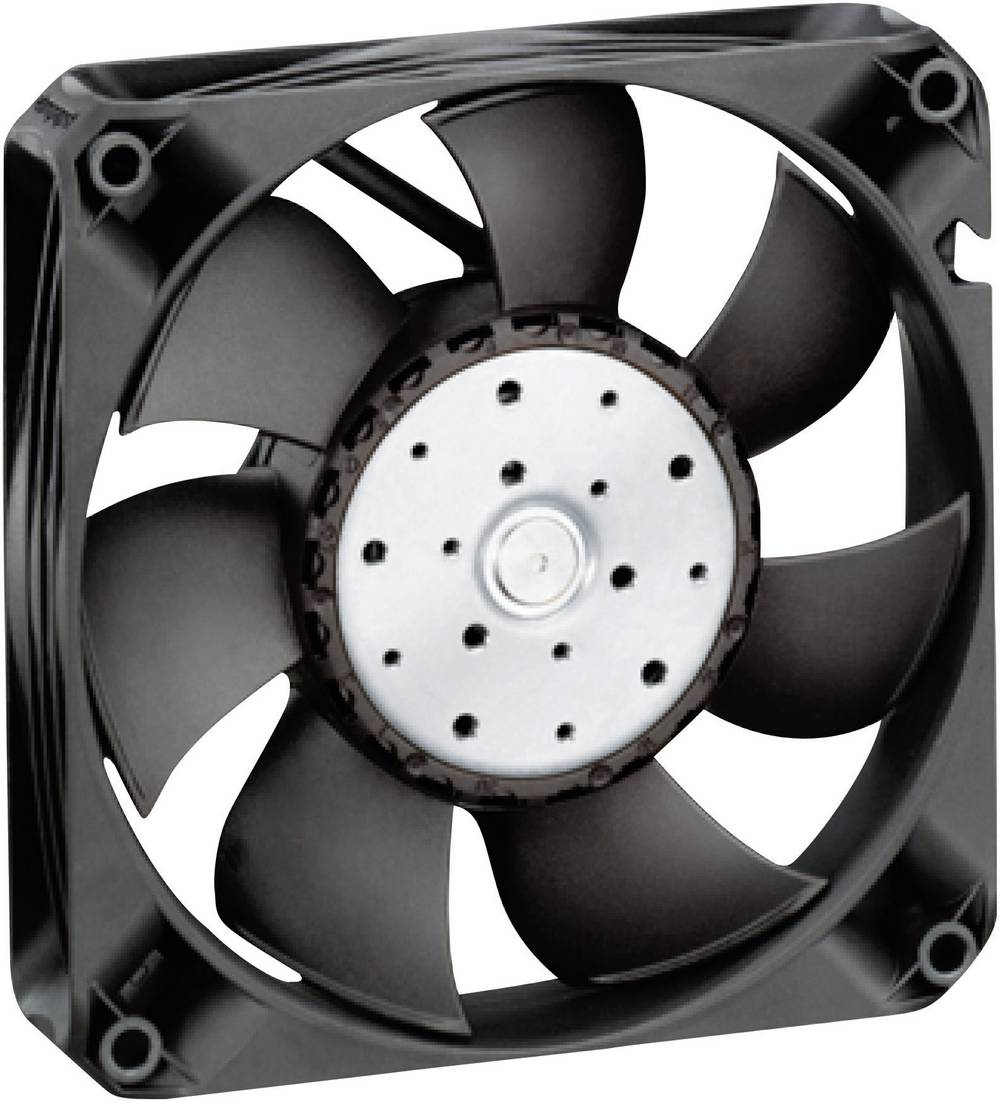 Aksial ventilator 12 V/DC 225 m³/h (L x B x H) 119 x 119 x 25 mm EBM Papst 4412 FNH
