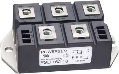 POWERSEM PSB 192-14 Diode bridge Figure 2 1400 V 174 A 1-phase
