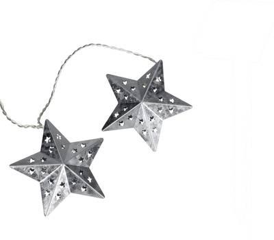 Image of 05-c080 Holiday lights (motif) Stars LED Warm white Illuminated length: 2.7 m