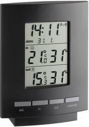 Trådlös termo-/hygrometer TFA Maxim II Svart