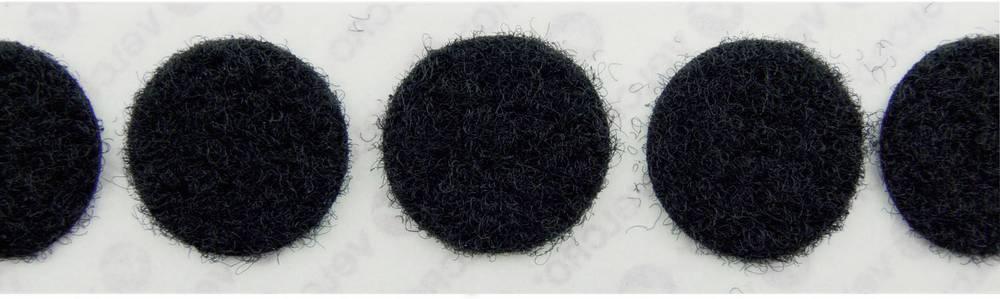 Sampljepljivi krugovi s čičkom Velcro mekani dio () 19 mm crna E20101933011425 1120 komada