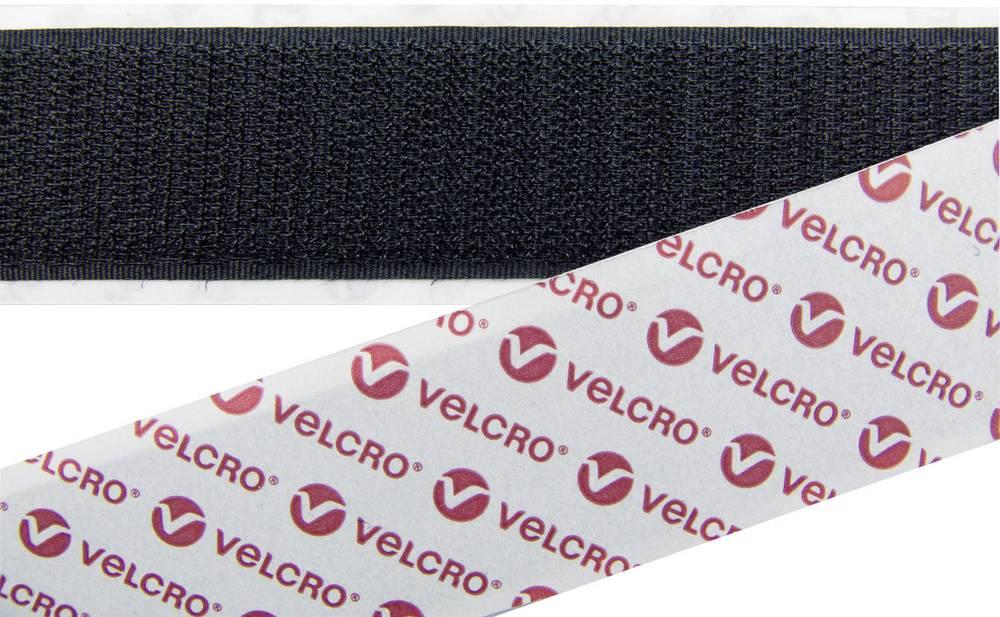 Traka s čičkom na šivanje Velcro prianjajući dio (D x Š) 25 m x 20 mm crna E08802033013025 1 komad