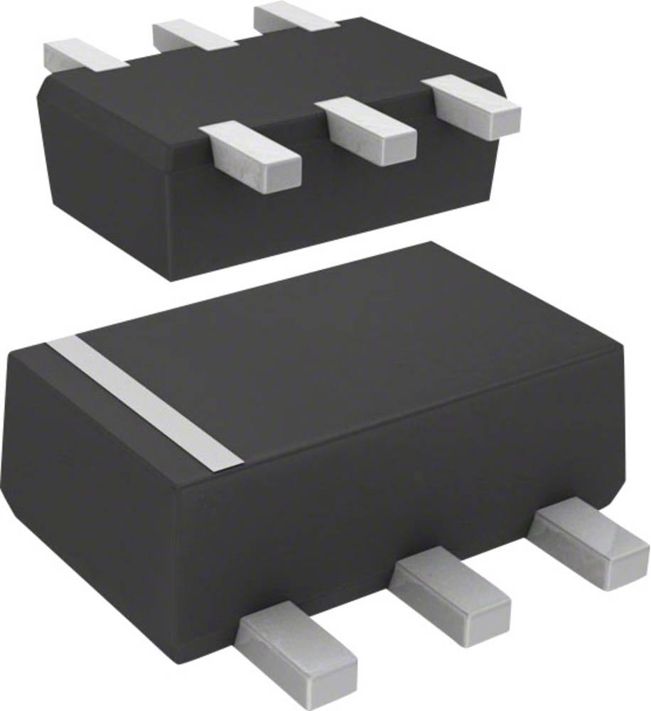Tranzistor (BJT) - Arrays, prednapeti Panasonic DMC564060R SMini6-F3-B 2 NPN
