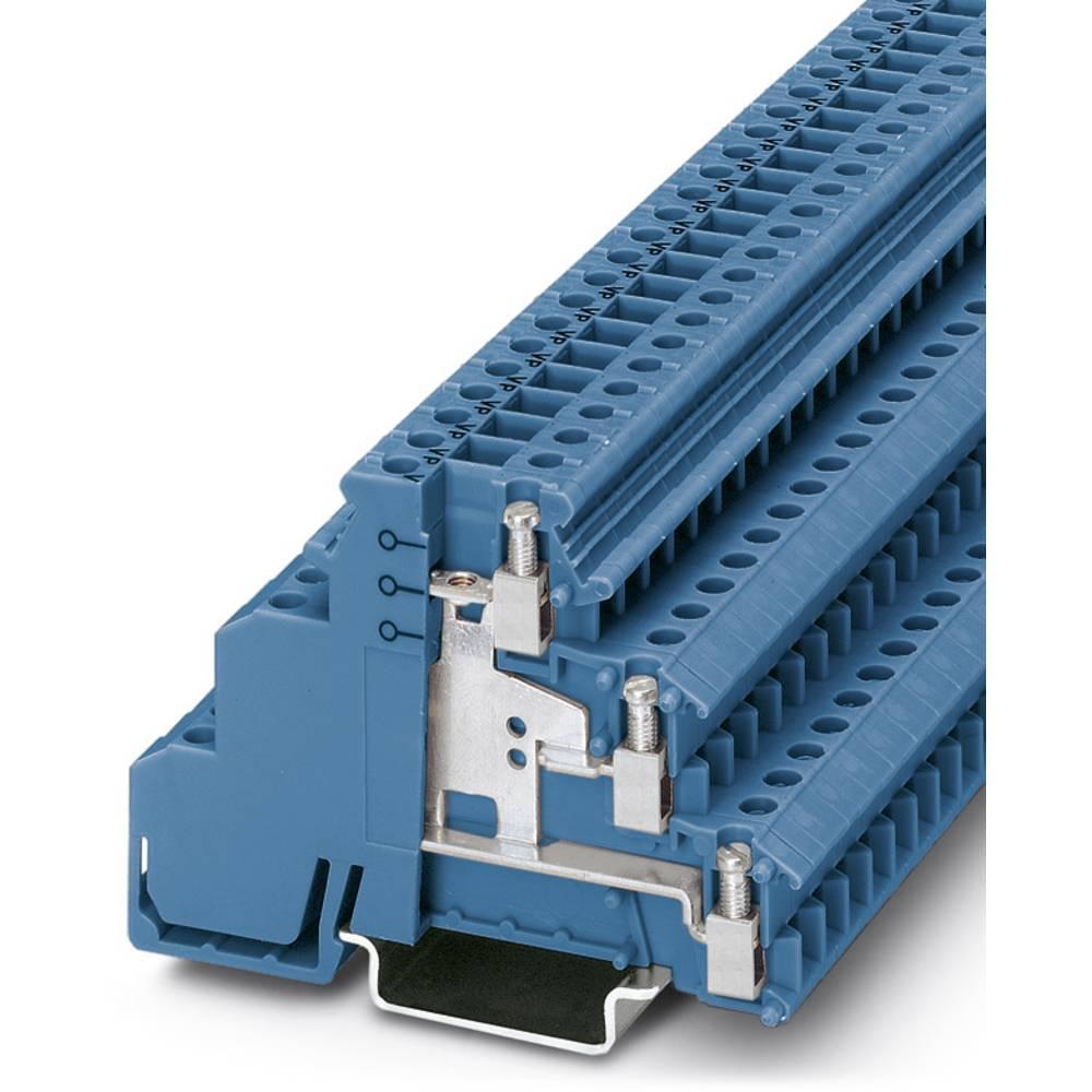 Sensor/actuator terminal block DIKD 1,5-PV BU Phoenix Contact DIKD 1,5-PV BU Blå 50 stk
