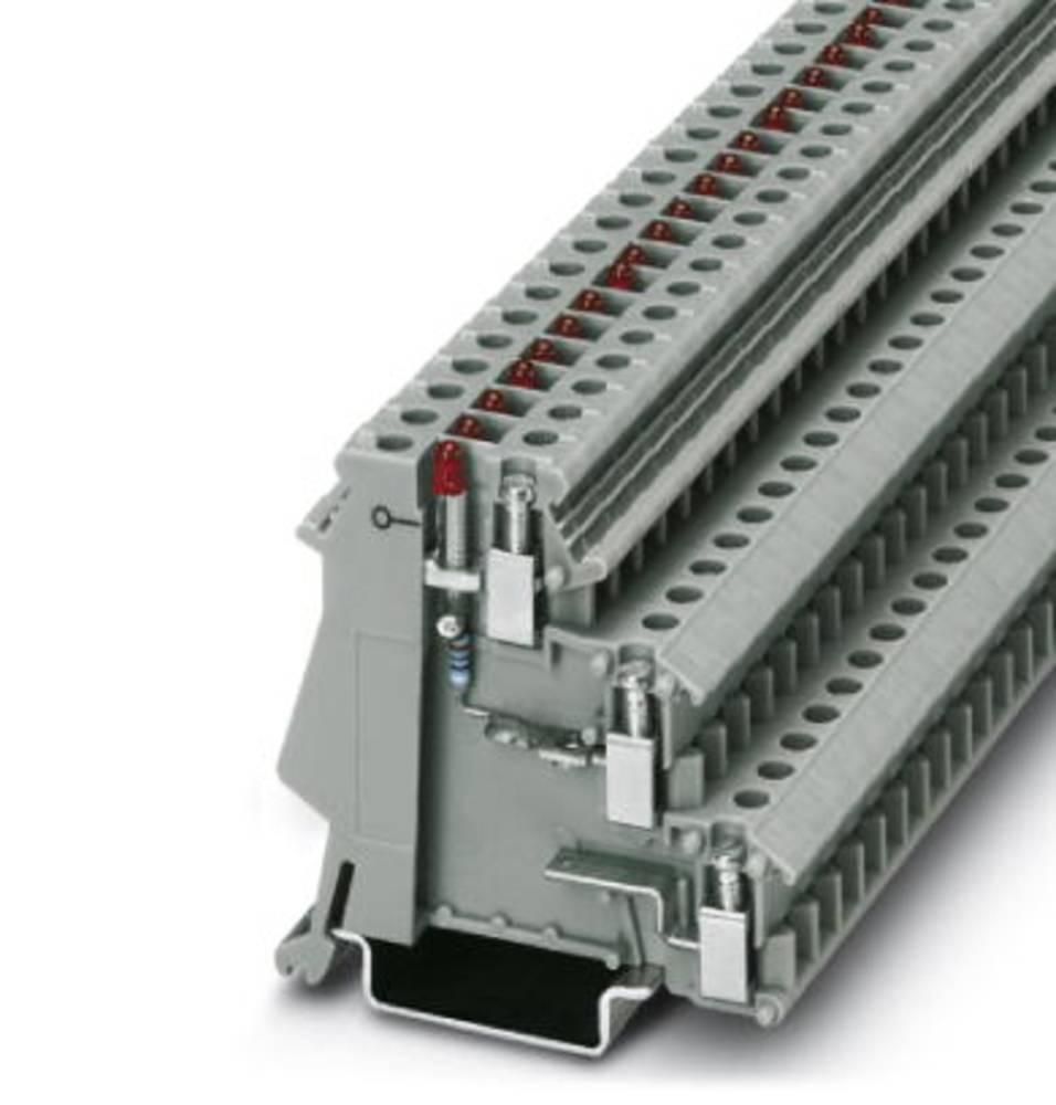 Sensor/actuator terminal block DIK 1,5-LA 24GN/O-M Phoenix Contact DIK 1,5-LA 24GN/O-M Grå 50 stk