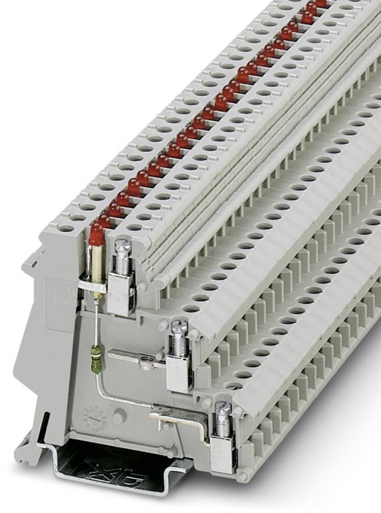 Initiator / aktuator terminal DIK 1,5-LA 24Rd / U-O Phoenix Contact DIK 1,5-LA 24RD/U-O Grå 50 stk
