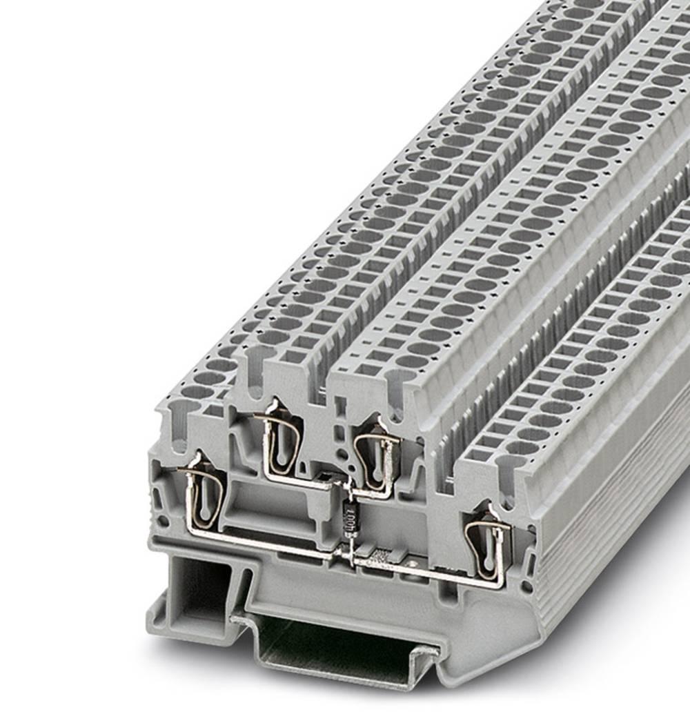 Komponentterminalen STTB 2,5-DIO / O-U Phoenix Contact STTB 2,5-DIO/O-U Grå 50 stk
