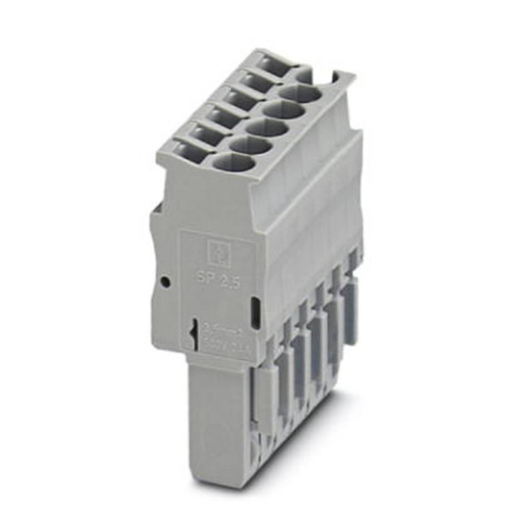 Plug SP 2,5 / 1 Phoenix Contact SP 2,5/ 1 Grå 50 stk