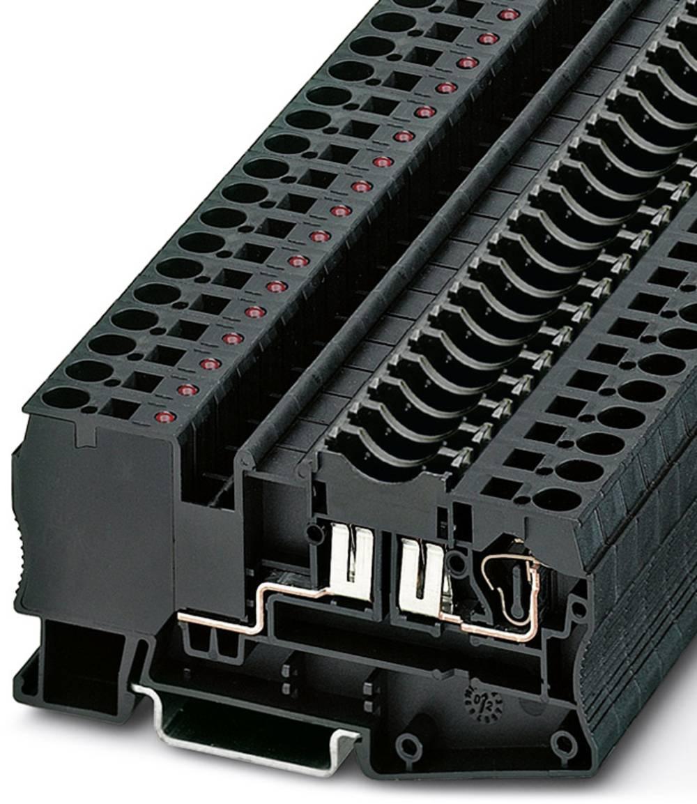 Sikring terminal ST 4-FSI / C-LED 24 Phoenix Contact ST 4-FSI/C-LED 24 Sort 50 stk