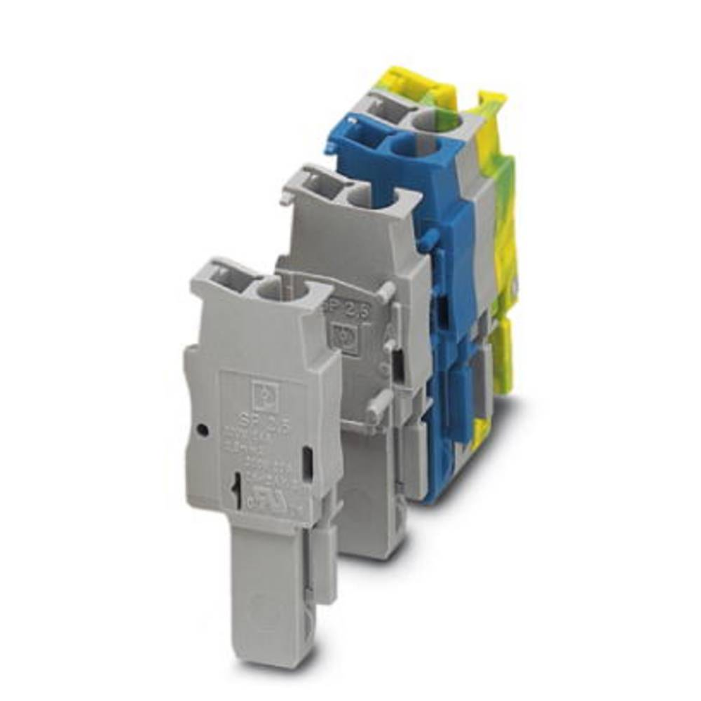 Plug SP 2.5 / 1-R Phoenix Contact SP 2,5/ 1-R Grå 50 stk