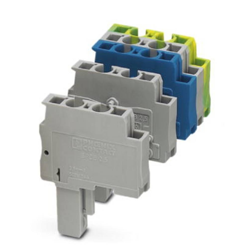 Plug SPDB 2,5 / 1-M BU Phoenix Contact SPDB 2,5/ 1-M BU Blå 50 stk