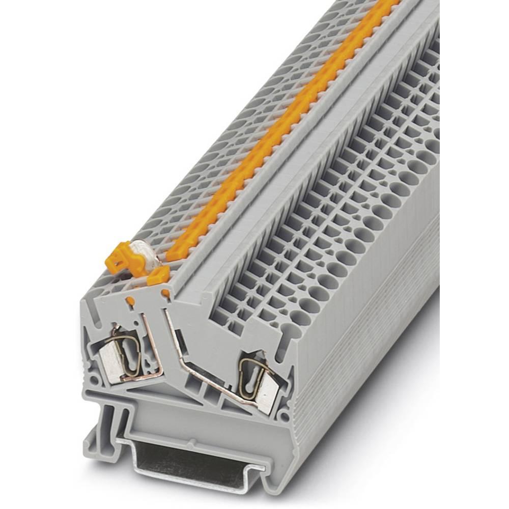Knife disconnect terminal block STS 2,5-MT Phoenix Contact STS 2,5-MT Grå 50 stk