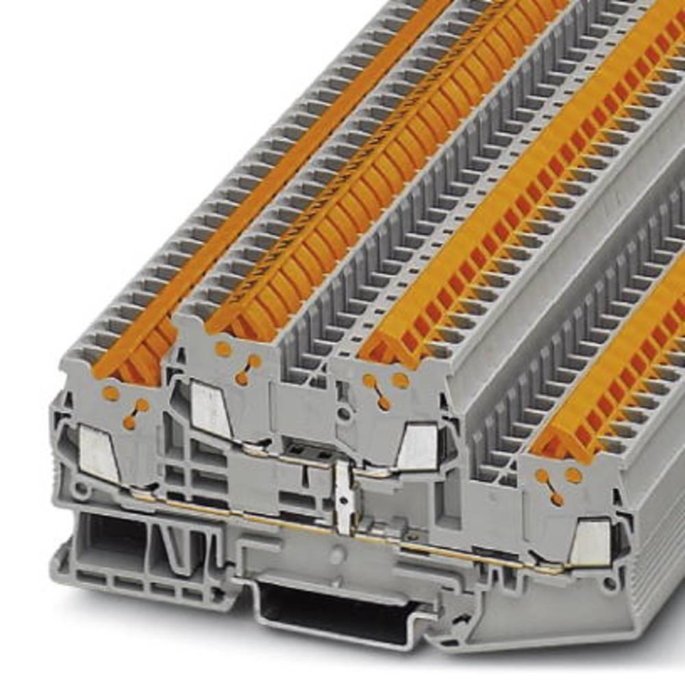 Gennem terminal QTTCB 1.5-PV Phoenix Contact QTTCB 1,5-PV Grå 50 stk