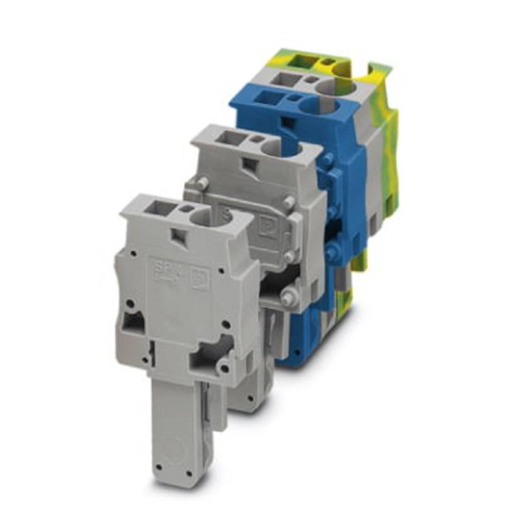 Plug SS 4/1-M GNYE Phoenix Contact SP 4/ 1-M GNYE Grøn-gul 50 stk