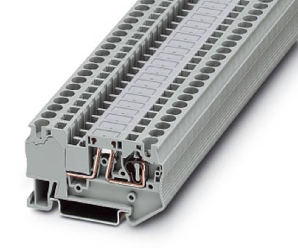 Ark / modulære afbryde terminal ST 4 MTD Phoenix Contact ST 4 MTD Grå 50 stk