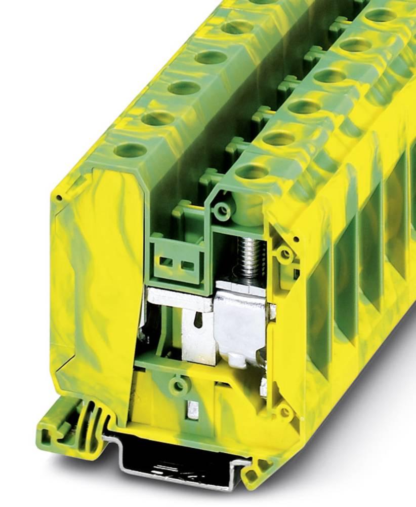 Beskyttende leder klemrække UT 35-PE Phoenix Contact UT 35-PE Grøn-gul 50 stk