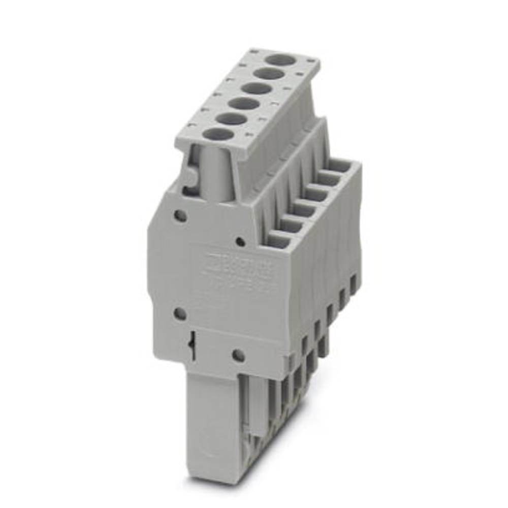 Plug UPBV 2,5 / 1 BU Phoenix Contact UPBV 2,5/ 1 BU Blå 50 stk