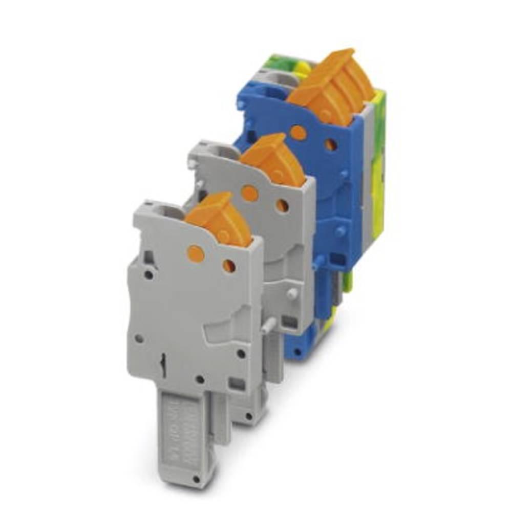 Plug QP 1,5 / 1-M GNYE Phoenix Contact QP 1,5/ 1-M GNYE Grøn-gul 50 stk