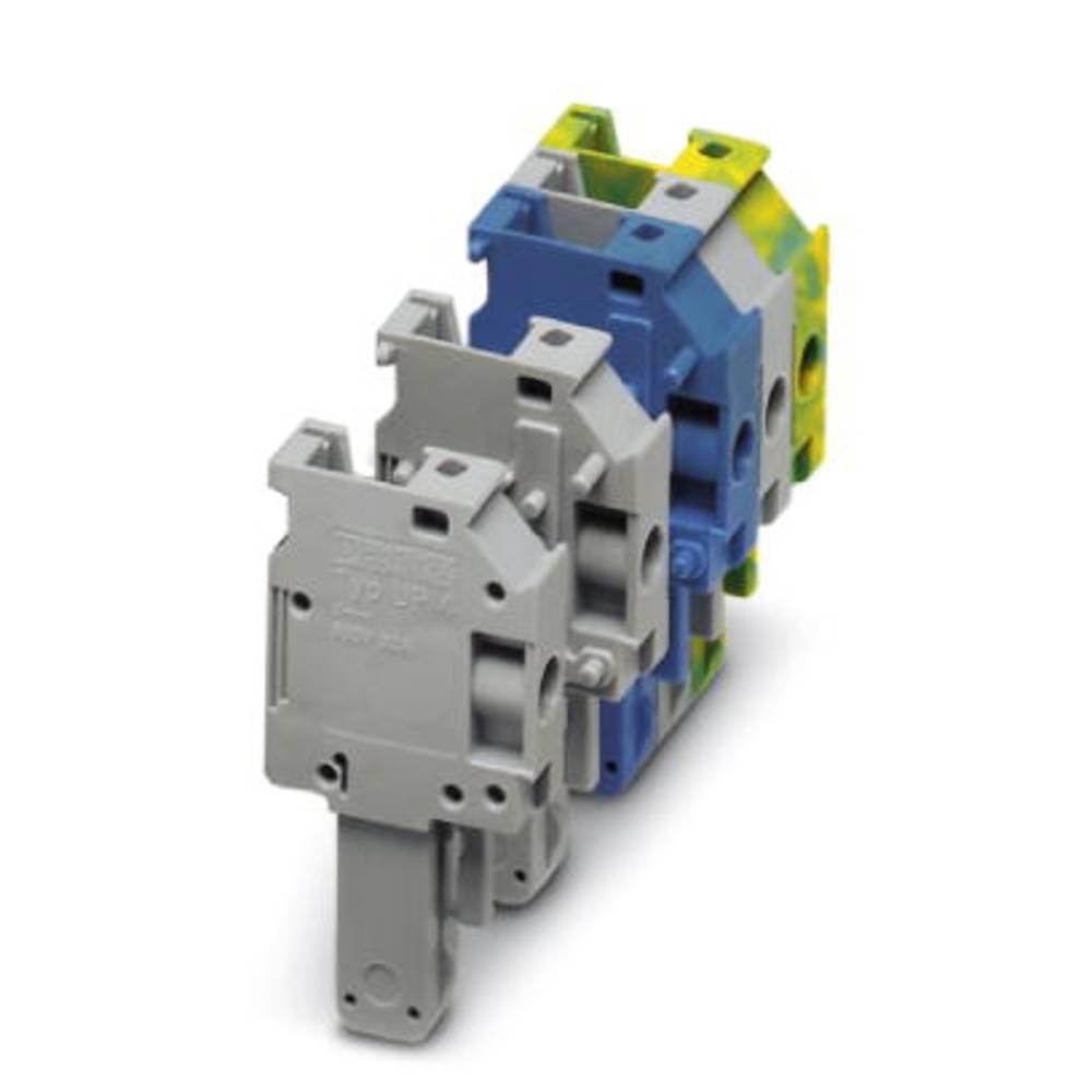 Plug UP 4/1 M-BU Phoenix Contact UP 4/ 1-M BU Blå 50 stk