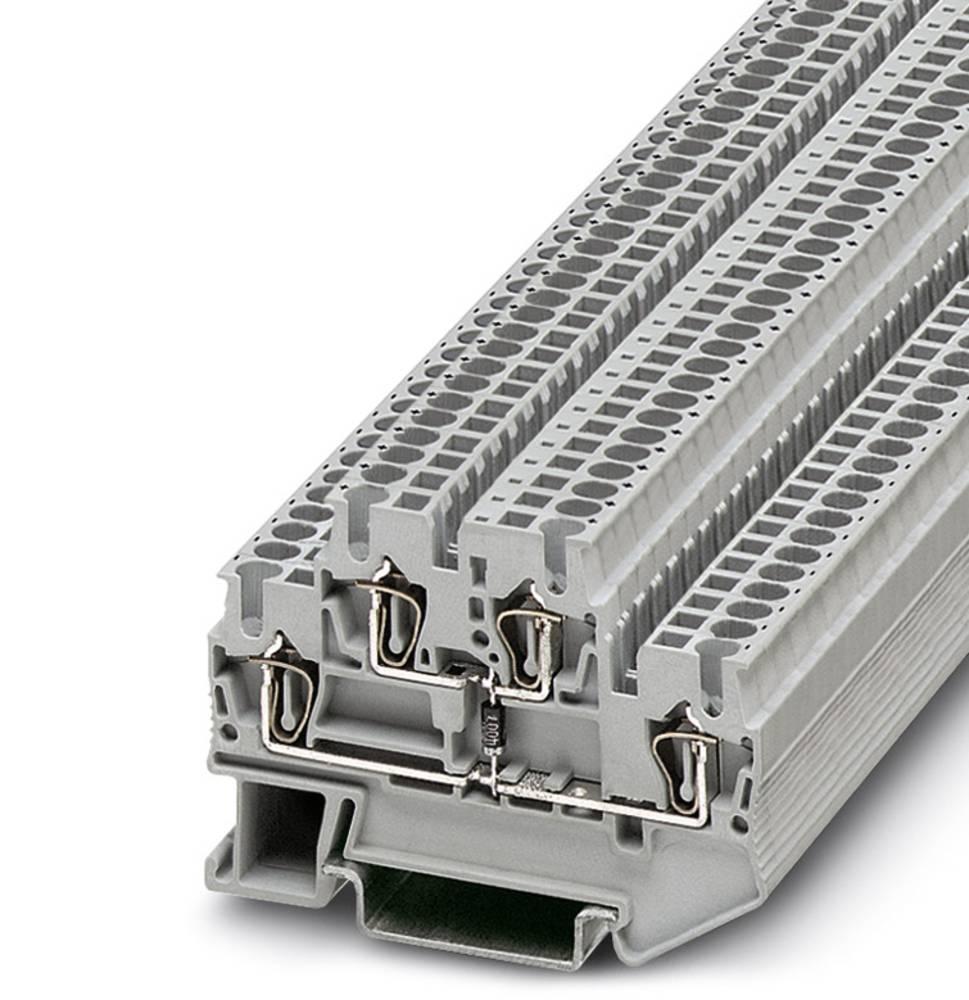 Komponenter terminal STTB 2.5-BE Phoenix Contact STTB 2,5-BE Grå 50 stk