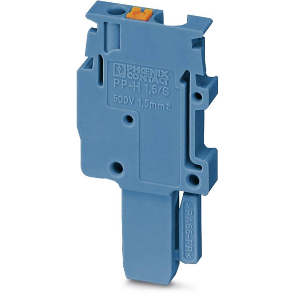 Plug PP-H 2,5 / 1-L BU Phoenix Contact PP-H 2,5/1-L BU Blå 50 stk