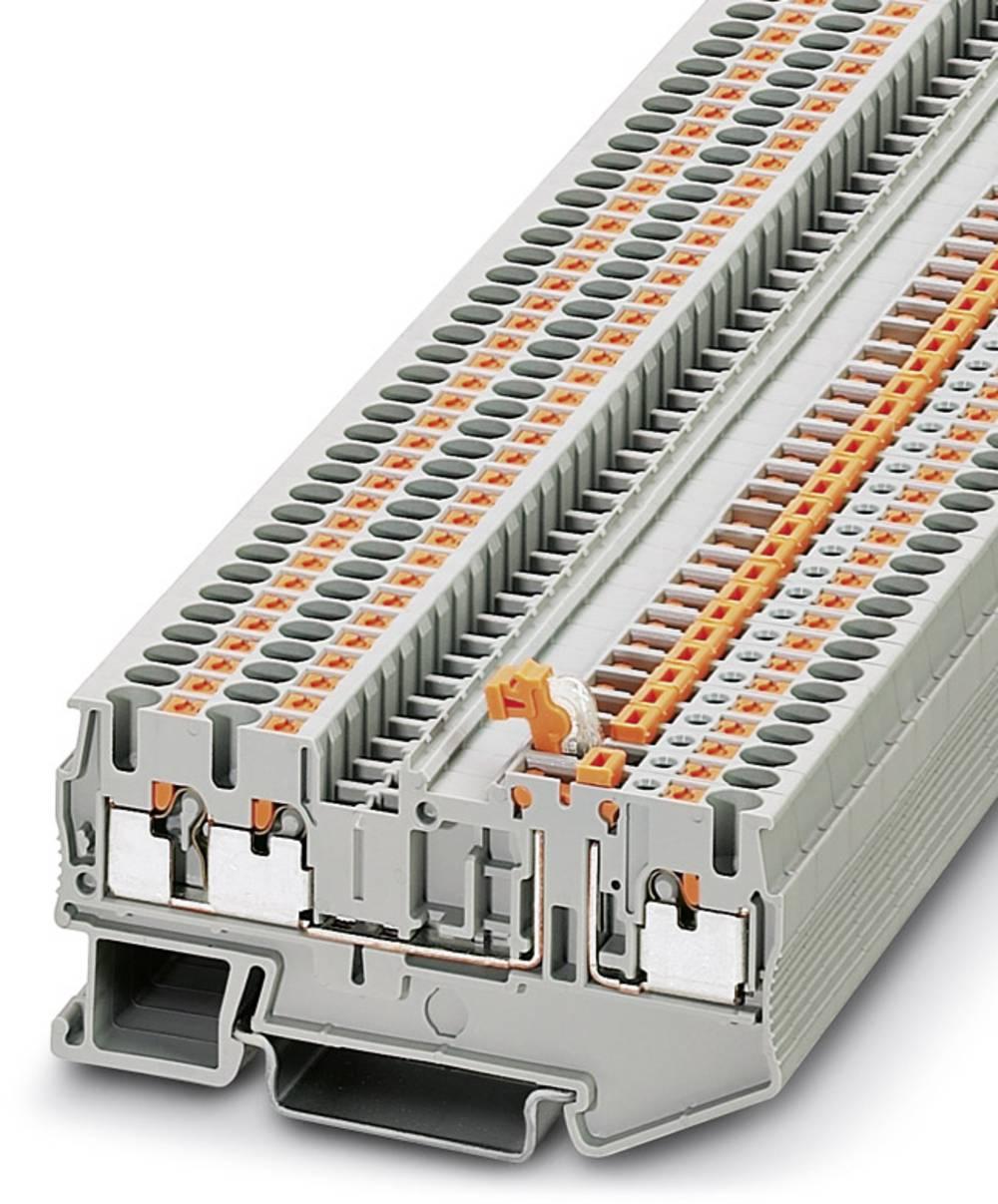 Ark / modulopbyggede afbryde terminal PT 2.5-TWIN-MT Phoenix Contact PT 2,5-TWIN-MT Grå 50 stk