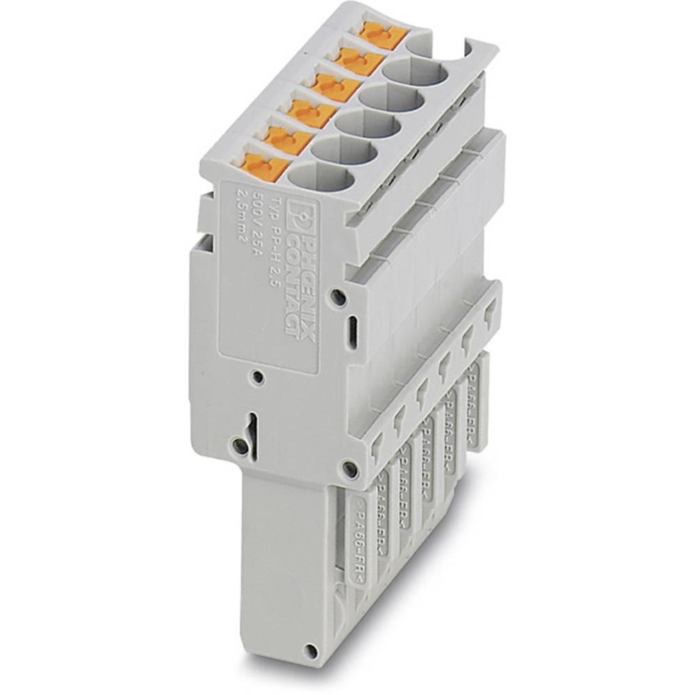Plug PP-H 2,5 / 12 Phoenix Contact PP-H 2,5/12 Grå 10 stk