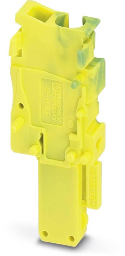 Sæt SP-H 2,5 / 1-R GNYE Phoenix Contact SP-H 2,5/ 1-R GNYE Grøn-gul 50 stk