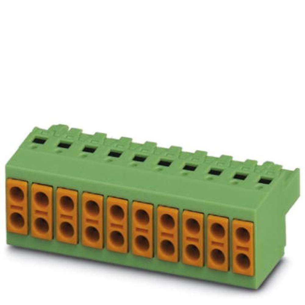 Tilslutningskabinet-kabel TVFKC Samlet antal poler 2 Phoenix Contact 1713868 Rastermål: 5 mm 50 stk