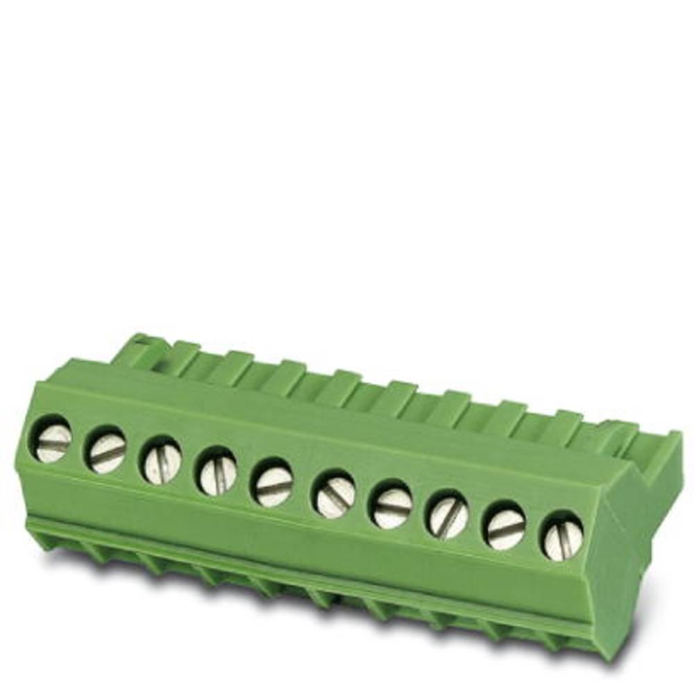 Tilslutningskabinet-kabel FRONT-MSTB Samlet antal poler 17 Phoenix Contact 1768606 Rastermål: 5.08 mm 50 stk