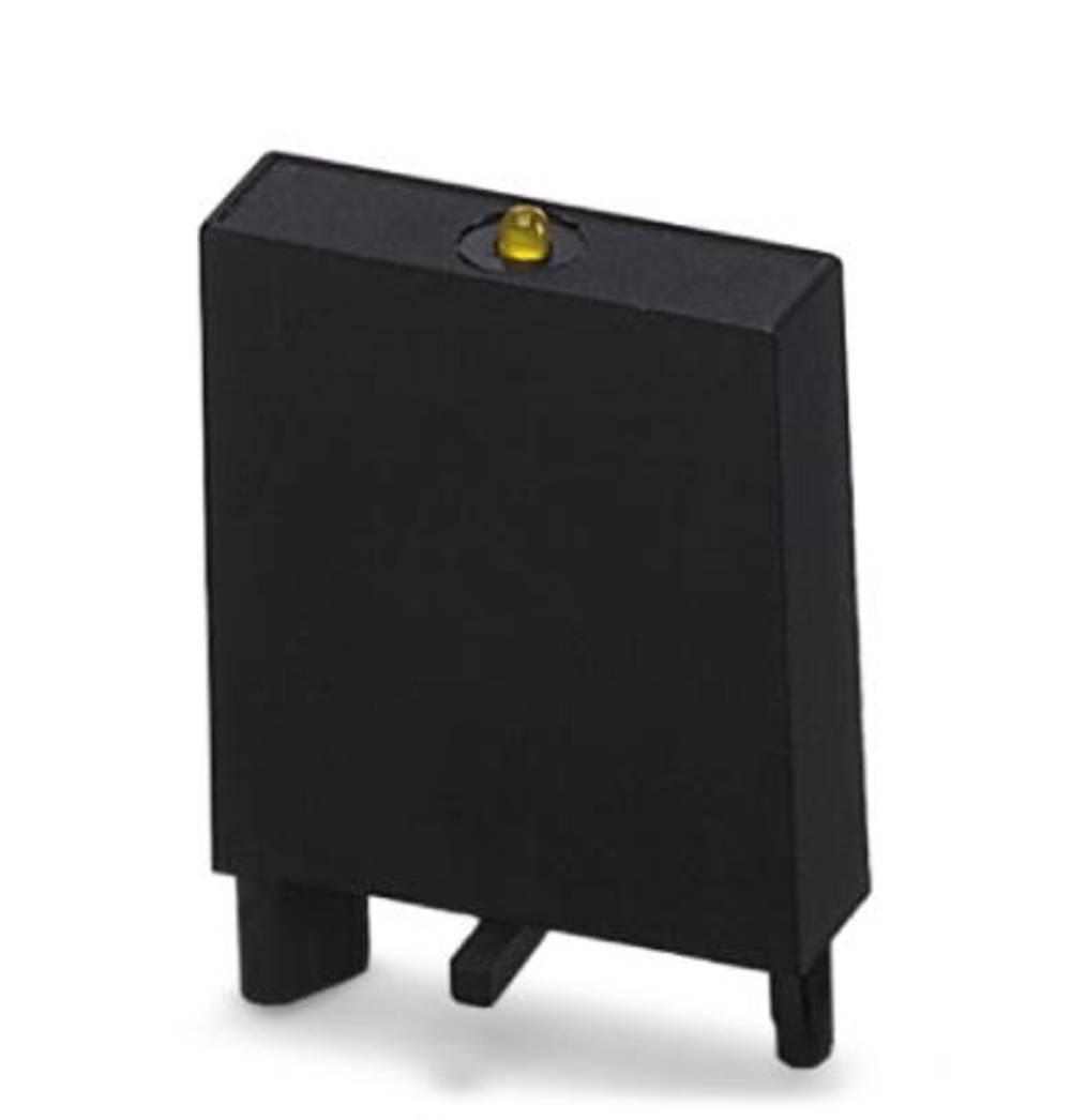 Indstiksmodul med LED, Med friløbsdiode 10 stk Phoenix Contact LDP3- 48- 60DC Lysfarve: Gul Passer til serie: Siemens Bauform S0