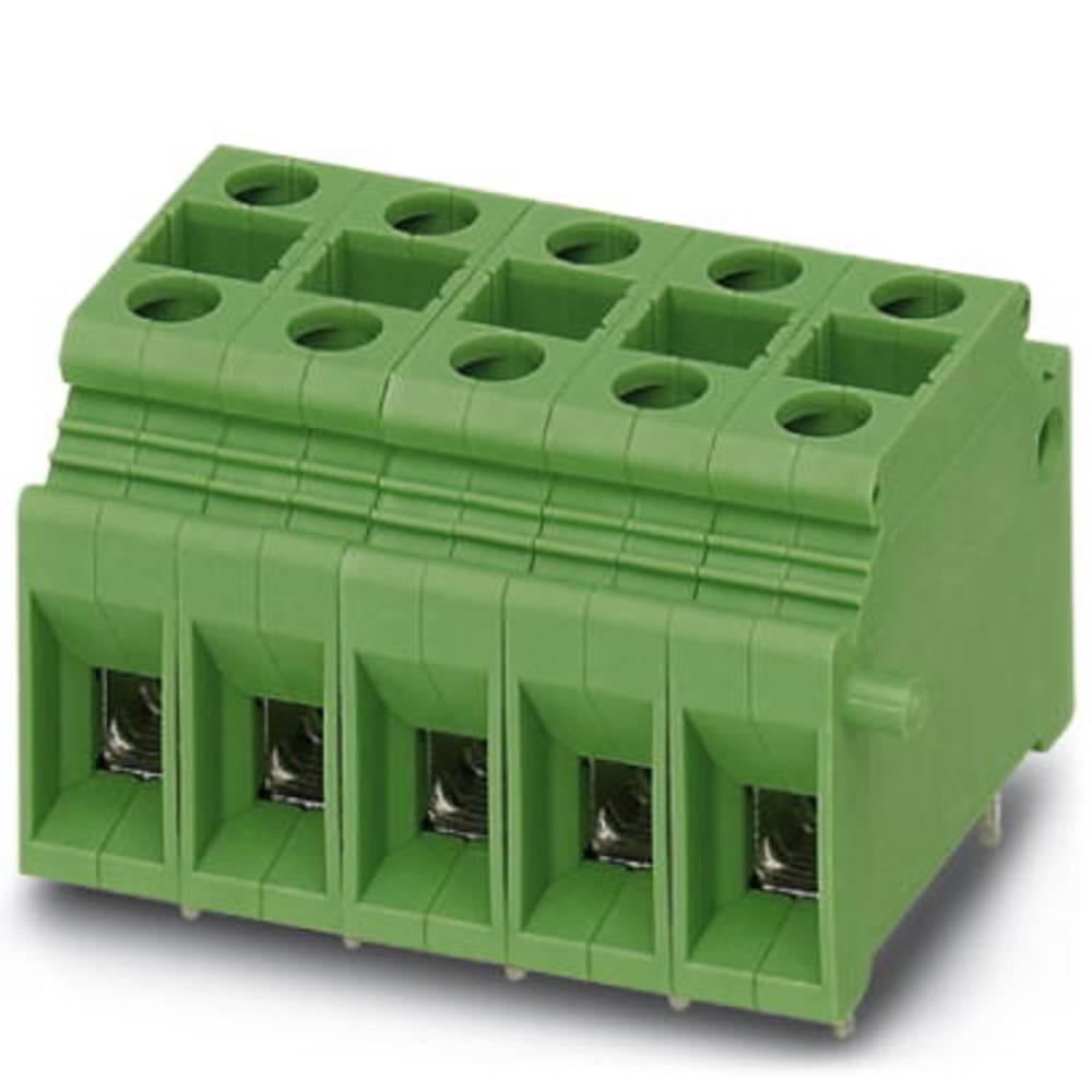 Skrueklemmeblok Phoenix Contact MKDSP 10N/ 2-10,16 SZS 10.00 mm² Poltal 2 Grøn 50 stk