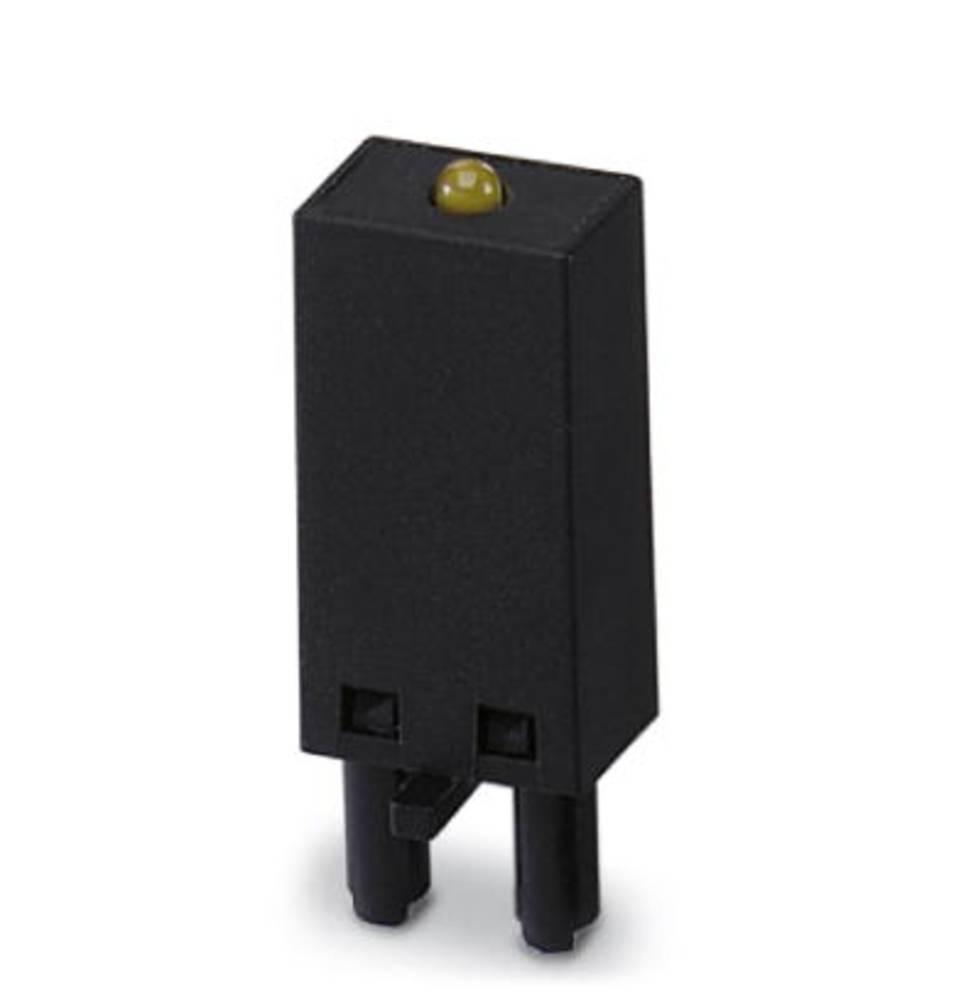 Indstiksmodul med LED, Med varistor 10 stk Phoenix Contact LV- 12- 24UC Lysfarve: Gul Passer til serie: Siemens Bauform S00 (val