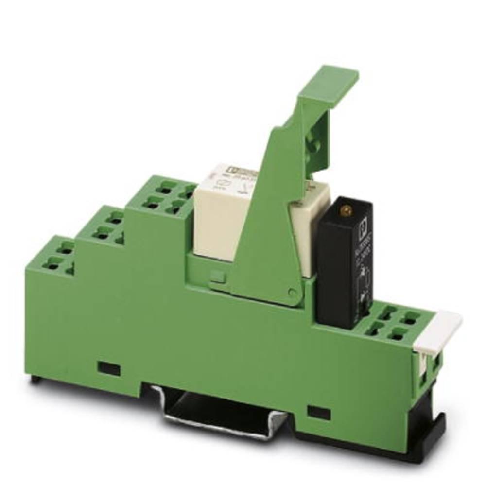 Relækomponent 5 stk Phoenix Contact PR1-RSP3-LDP-24DC/21 Nominel spænding: 24 V/DC Brydestrøm (max.): 10 A 1 x skiftekontakt