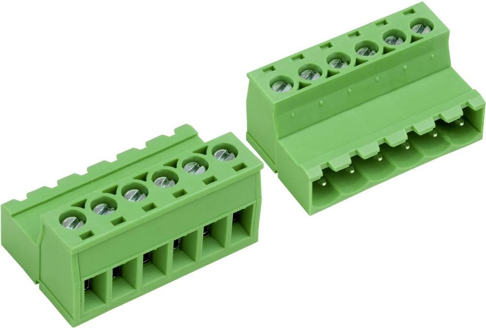 Tilslutningskabinet-kabel AK(Z)950 Samlet antal poler 2 PTR 50950027028F Rastermål: 5.08 mm 1 stk