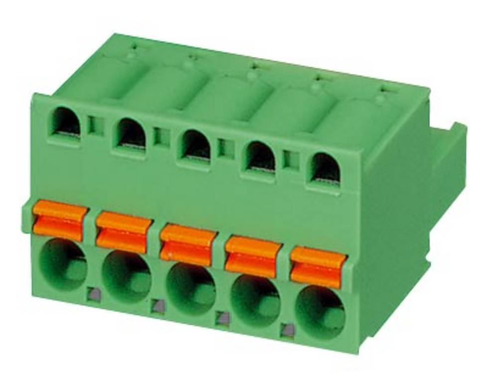 Tilslutningskabinet-kabel FKC Samlet antal poler 5 Phoenix Contact 1936306 Rastermål: 5.08 mm 100 stk