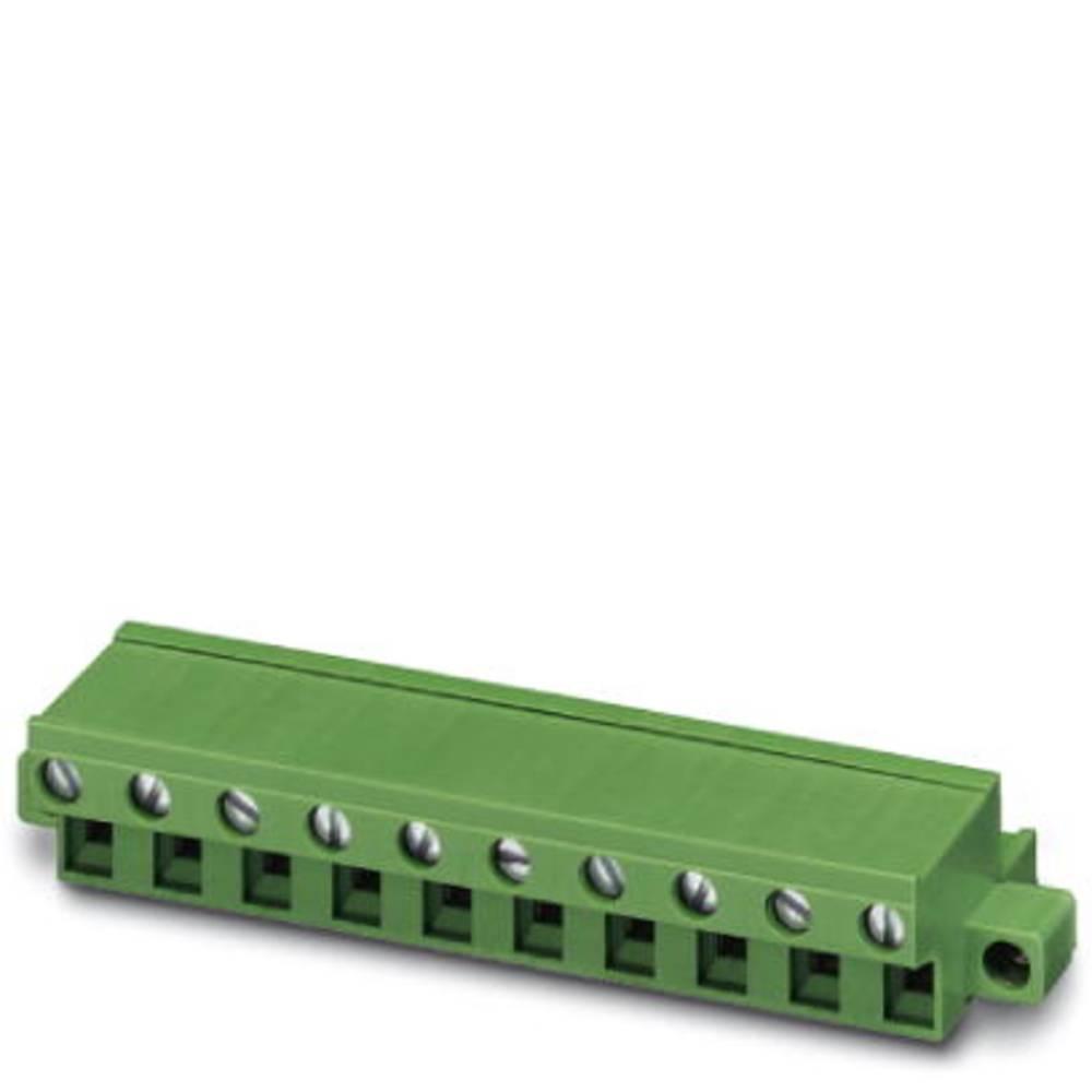 Tilslutningskabinet-kabel FRONT-GMSTB Samlet antal poler 2 Phoenix Contact 1805987 Rastermål: 7.62 mm 50 stk