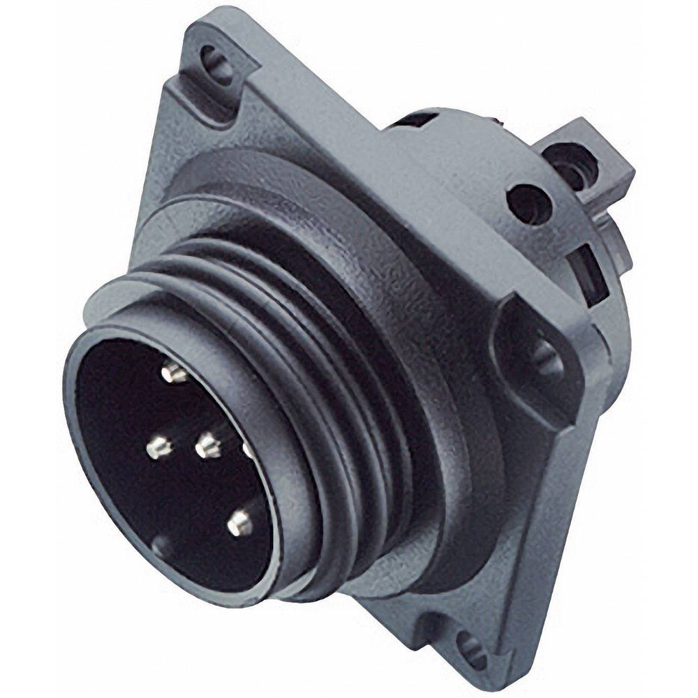 Močnostni okrogli konektor Binder serije 694, 99-000-05, nazivni tok: 20 A, poli: 4+PE
