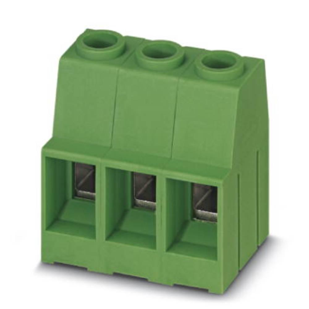 Skrueklemmeblok Phoenix Contact MKDSP 10HV/ 3-10,16 16.00 mm² Poltal 3 Grøn 50 stk