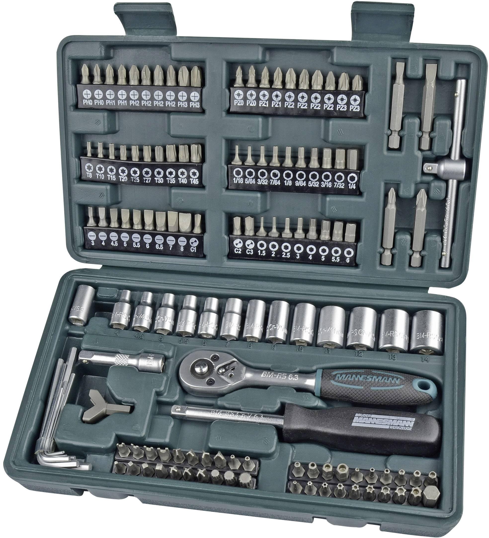 Br/Ã/¼der Mannesmann Werkzeuge M11415 Screwdriver and Bit Set 37-Piece by Br/Ã/¼der Mannesmann Werkzeuge