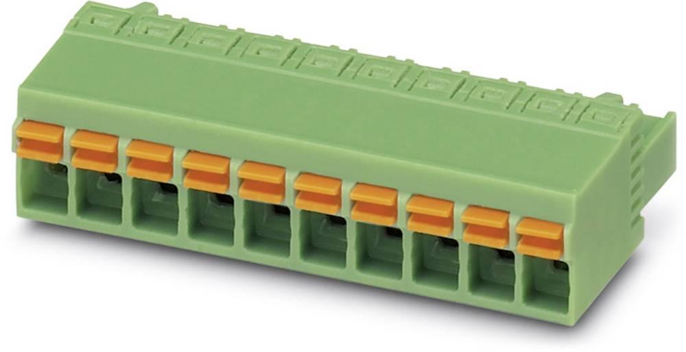 Tilslutningskabinet-kabel FKCN Samlet antal poler 4 Phoenix Contact 1732768 Rastermål: 5 mm 50 stk