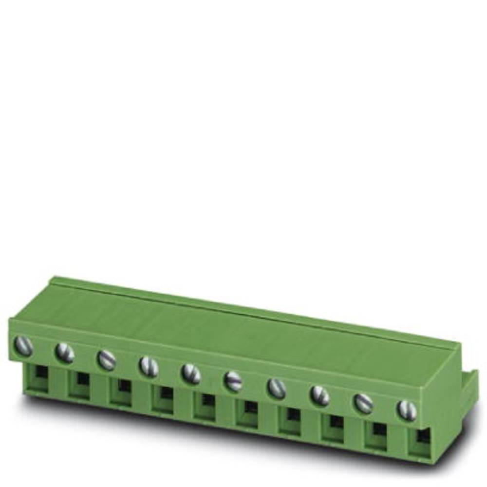 Tilslutningskabinet-kabel FRONT-GMSTB Samlet antal poler 4 Phoenix Contact 1806135 Rastermål: 7.62 mm 50 stk