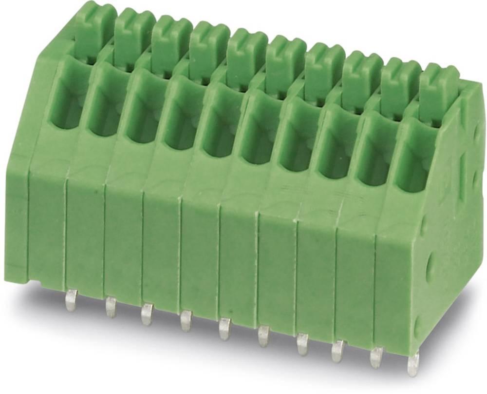 Fjederkraftsklemmeblok Phoenix Contact PTSA 0,5/ 8-2,5-F 0.50 mm² Poltal 8 Grøn 100 stk