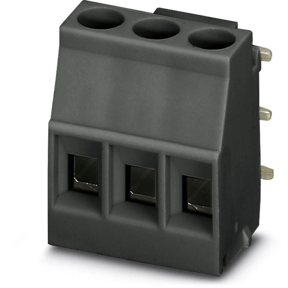 Skrueklemmeblok Phoenix Contact MKDSO 2,5/ 3-R BK 2.50 mm² Poltal 3 Sort 50 stk